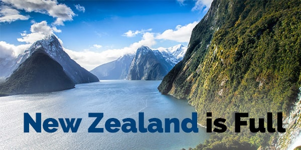 New Zealand is Full