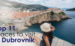 Top 11 places to visit in Durbrovnik