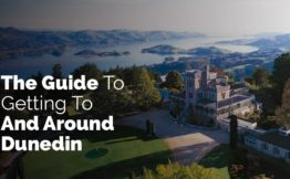 The guide to getting to and around Dunedin